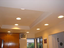 interior lighting installation